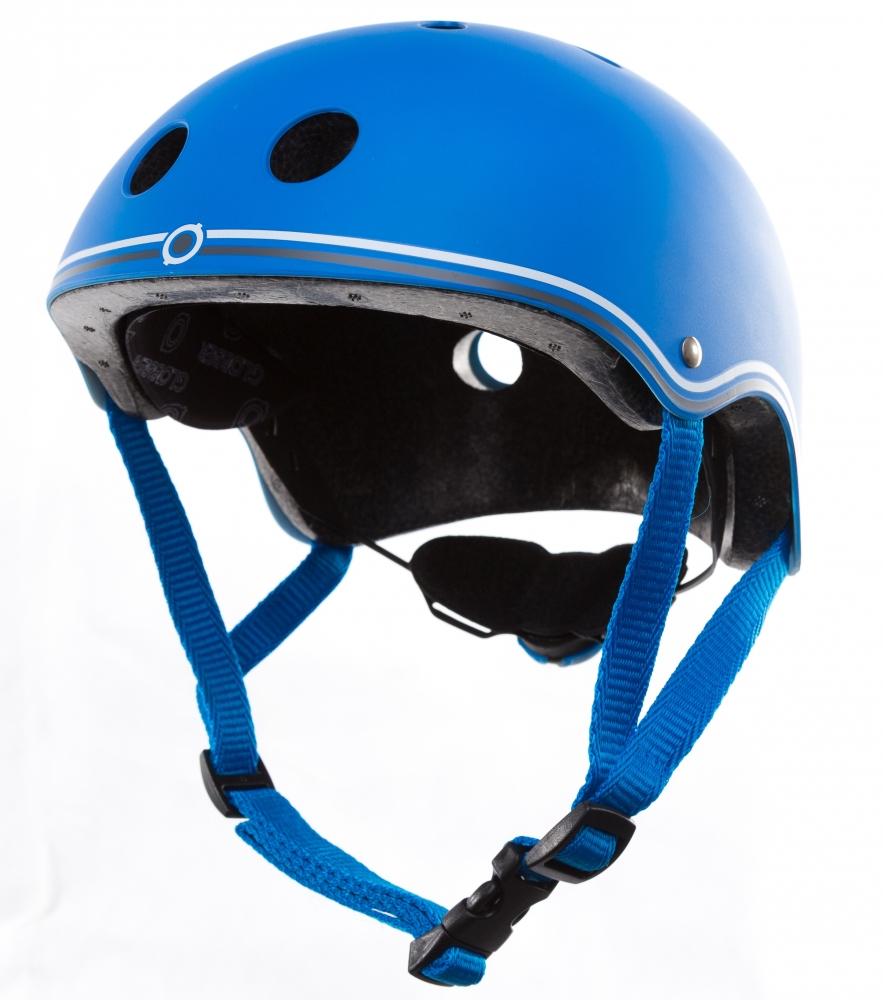 Casca de protectie junior albastra