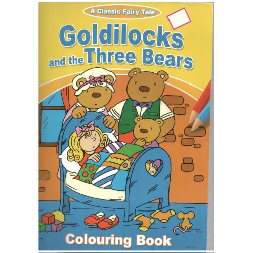 Cei trei ursuleti-carte de colorat