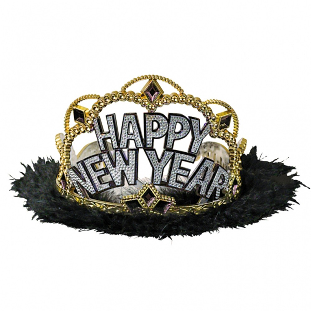 Coronita Tiara petrecere Revelion, Amscan 252052, 1 buc