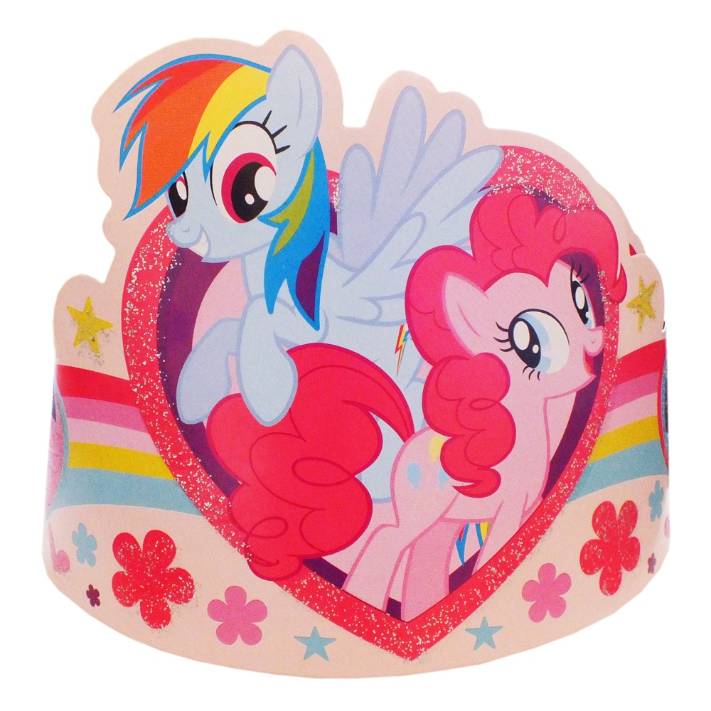 Coronita cu Little Pony,  Amscan 996369
