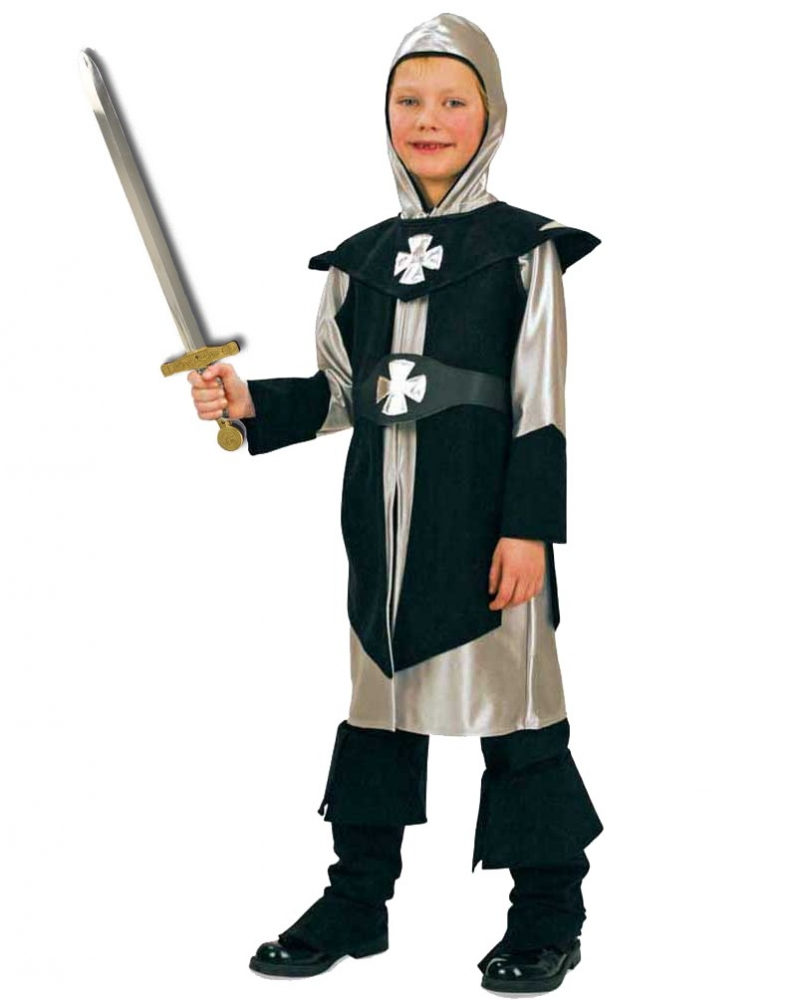 Costum pentru serbare Cavalerul Negru 128 cm