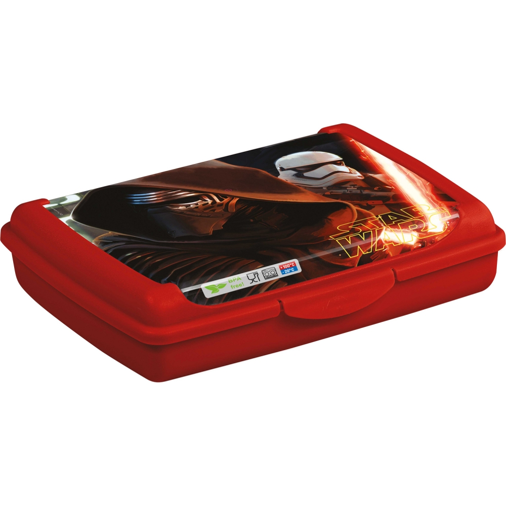 Cutie Depozitare Alimente Click Box Star Wars 0.5 L Lulabi 7053705
