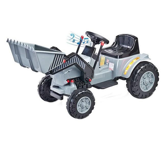 Excavator electric 6V Toyz By Caretero 6V Grey