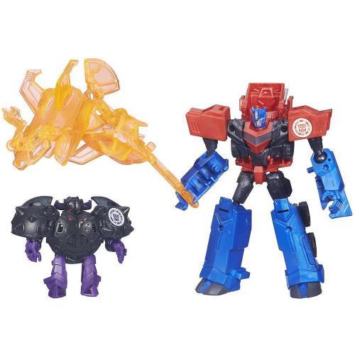 Figurina Transformers Optimus Prime vs Bludgeon