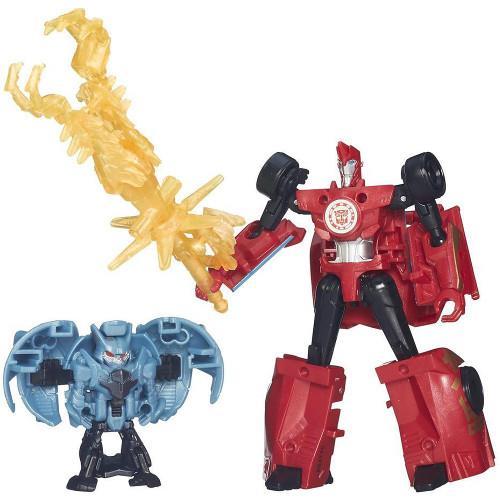 Figurina Transformers Sideswipe vs Anvil