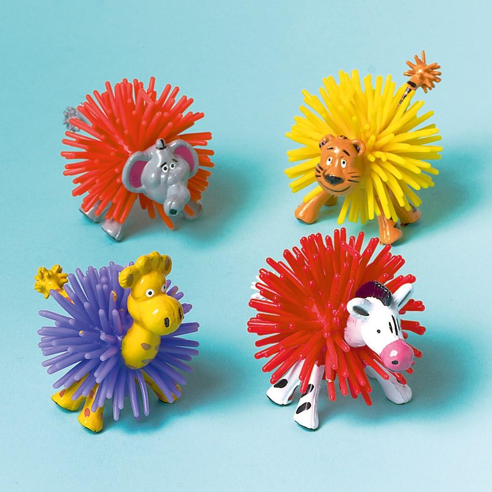 Figurine Animale de la Zoo, Amscan 390574, Set 8 buc