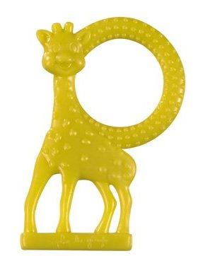 Inel dentitie cu aroma de vanilie Girafa Sophie -Verde