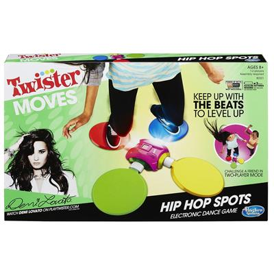 Joc Twister Moves Hip Hop Spots Electronic Dance Game