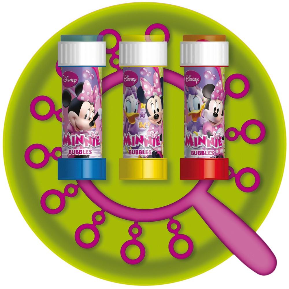 Joc party Minnie Mouse, Frisbee  Baloane de Sapun Gigant, Dulcop 111000, 1 buc