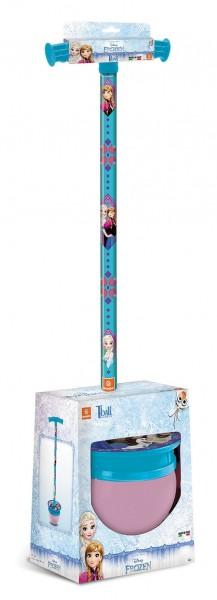 Jucarie saritoare cu maner T Ball Mondo Frozen Elsa