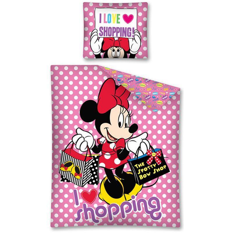Lenjerie de pat Minnie Mouse 140 x 200cm