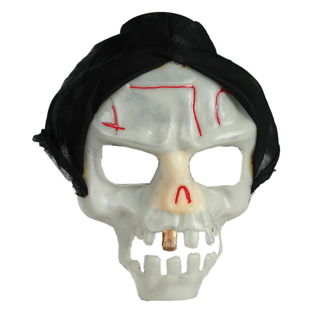 Masca schelet fosforescenta pentru Halloween, OOTB 632653
