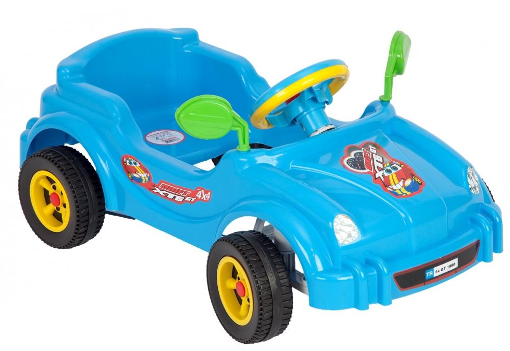 Masina cu pedale Visul copiilor Albastru