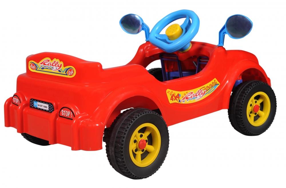 Masina cu pedale Visul copiilor rosie