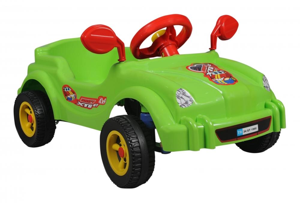 Masina cu pedale - Visul copiilor - verde