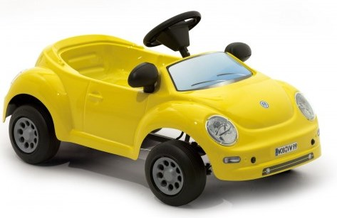 Masinuta cu pedale copii ToysToys Volkswagen New Beetle