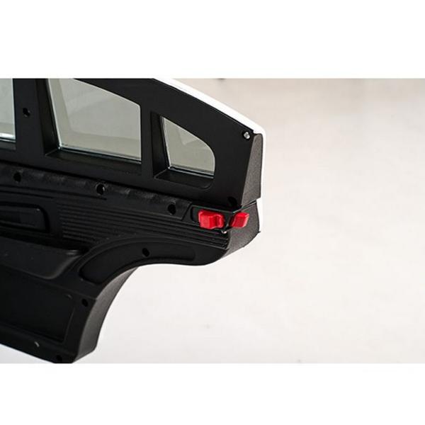 Masinuta electrica cu telecomanda si roti de cauciuc XMX806 Black