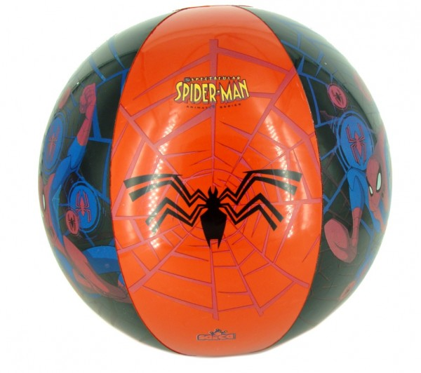 Minge de plaja usoara Saica Spiderman pentru copii