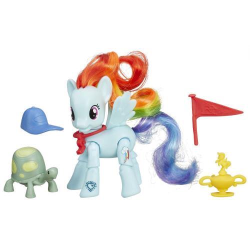 My Little Pony - Rainbow Dash si Testoasa