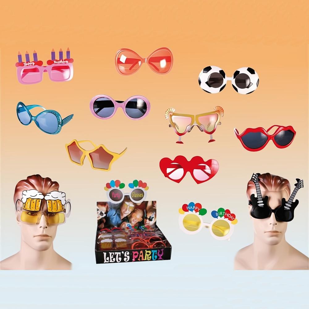 Ochelari haiosi de petrecere - Funny Glasses, OOTB 183931, 1 buc