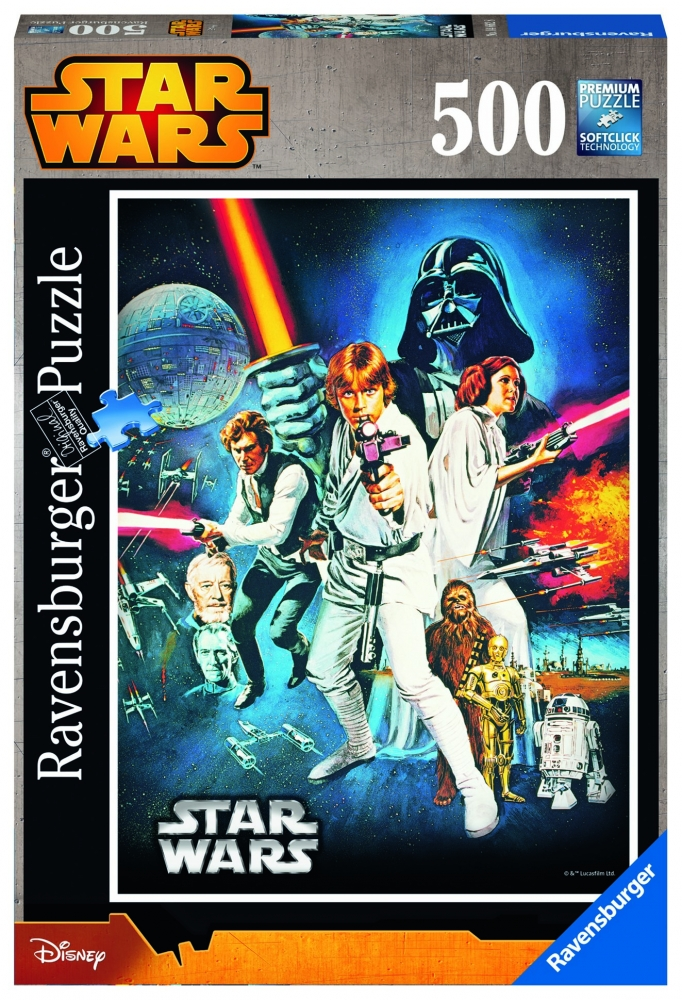 Puzzle Star Wars Ep. VI 500 Piese