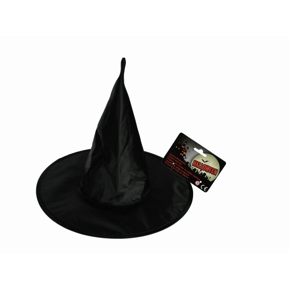 Palarie neagra de vrajitoare pentru petrecere Halloween, OOTB 632634, 1 buc