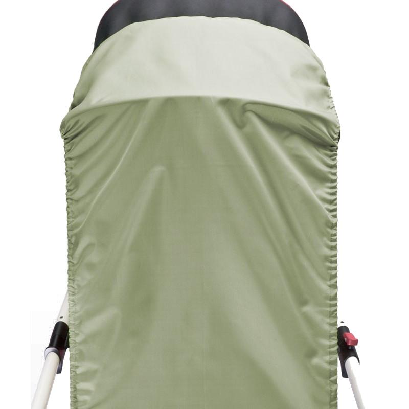 CARETERO Parasolar pentru landou Khaki