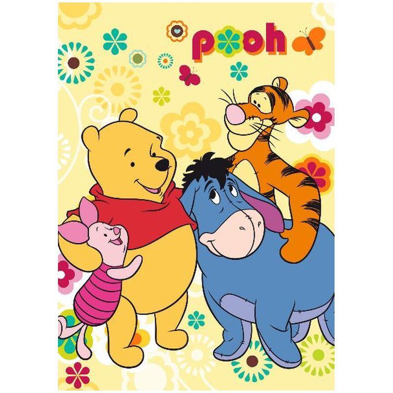 Patura acrilic Winnie the Pooh