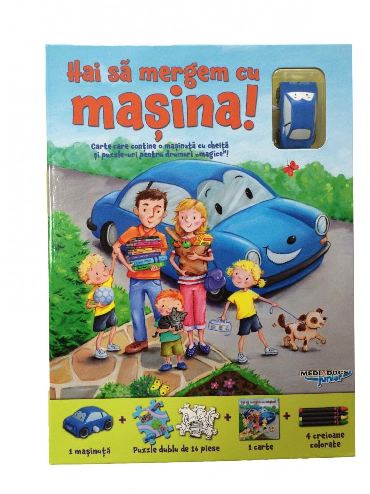 Puzzle track -  Sa mergem cu masina
