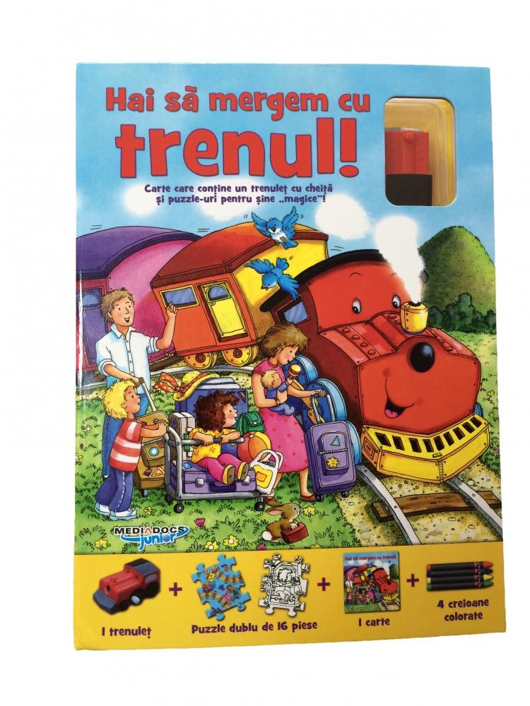Puzzle track  - Sa mergem cu trenul