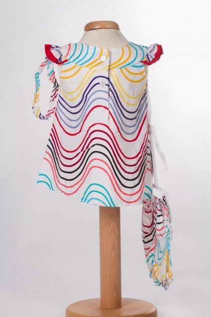 Rochita de bebeluse Colorful waves (Masura 68 (3-6 luni))