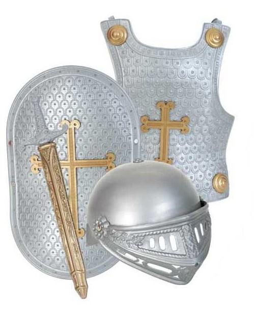 Set accesorii Armura Cavalerului Arthur