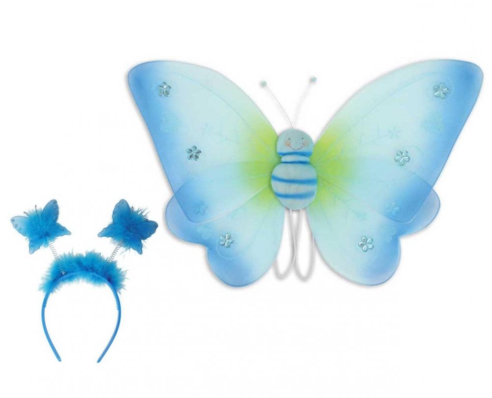 Set accesorii Fluturas Albastru