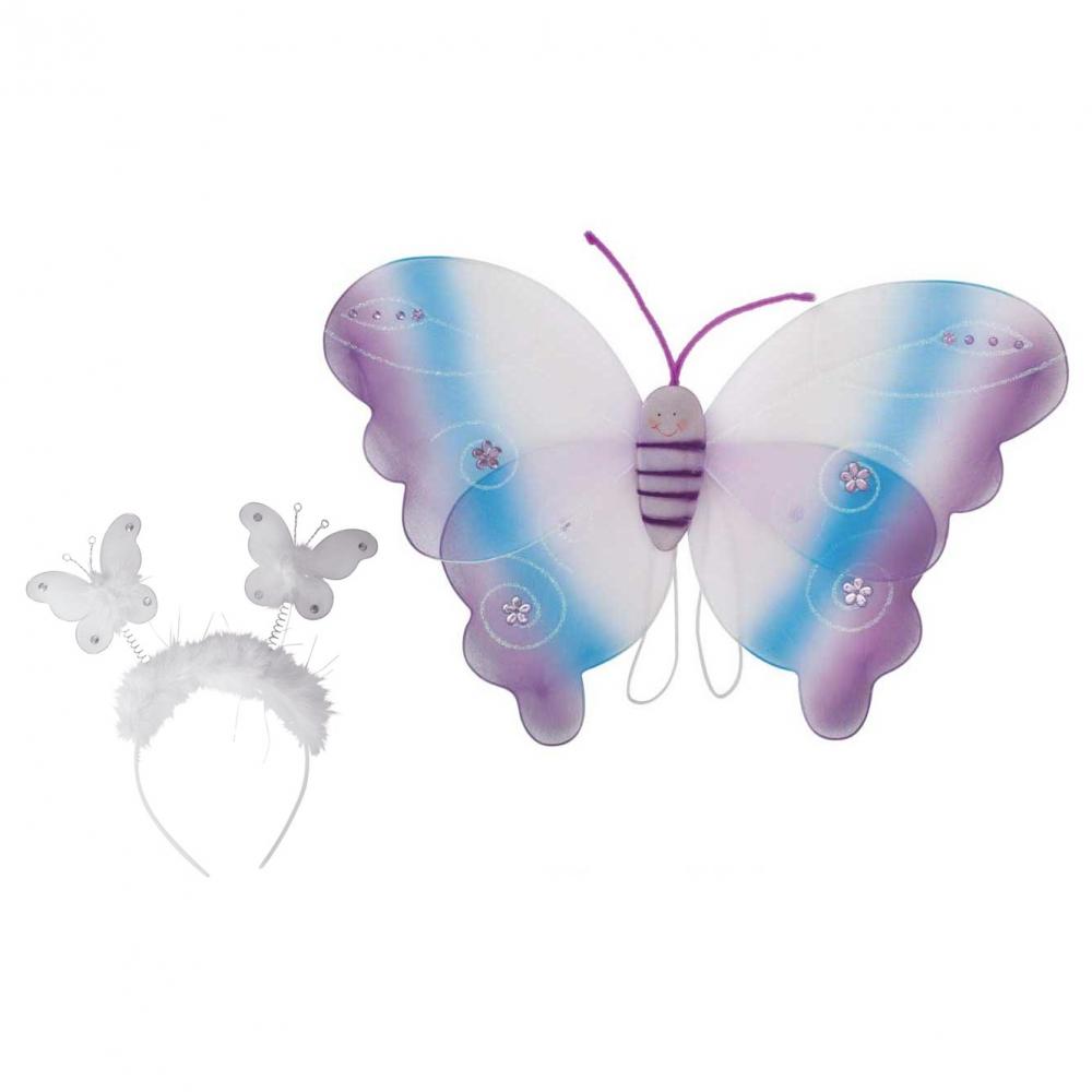 Set accesorii Fluturas Multicolor