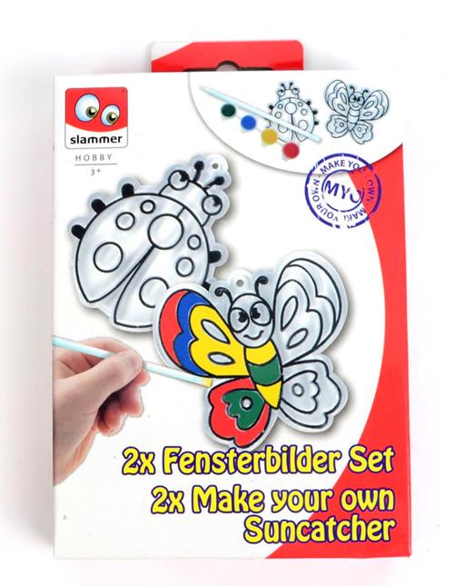 Set creatie vitralii colorate (3 modele) - Canenco