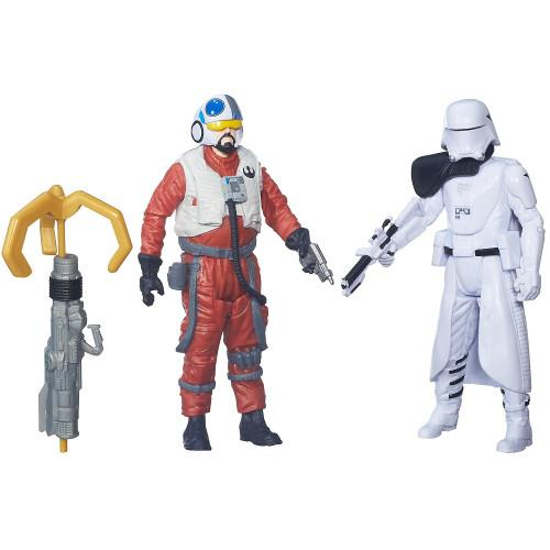 Star Wars - Figurine First Mate Snap Wexley si Snowtrooper