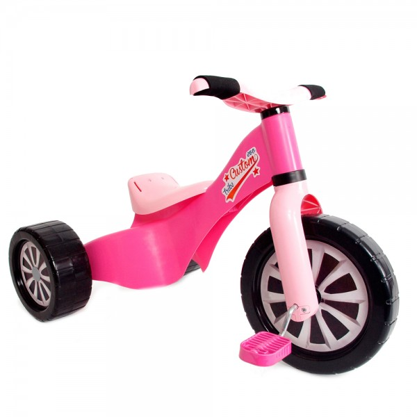 Tricicleta copii Palau 1598 din plastic Roz