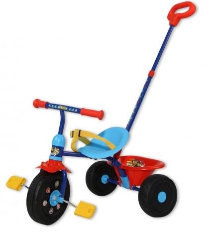 Tricicleta Copii Saica Paw Patrol Cu Maner Control