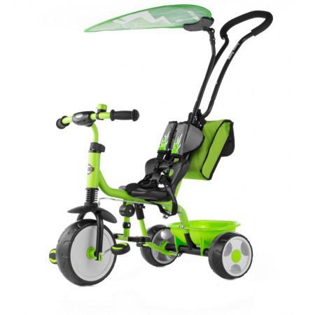 Tricicleta pentru copii Boby Deluxe Green