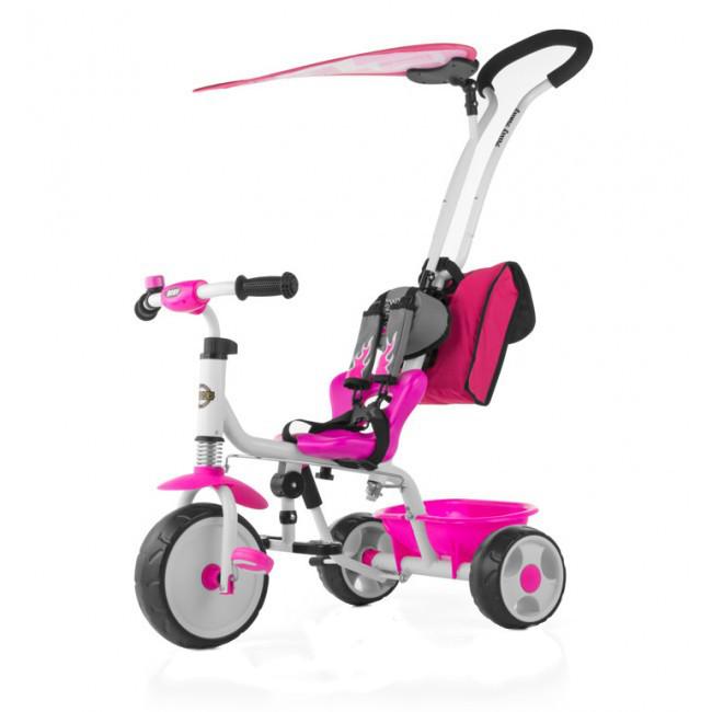 Tricicleta pentru copii Boby Deluxe Pink