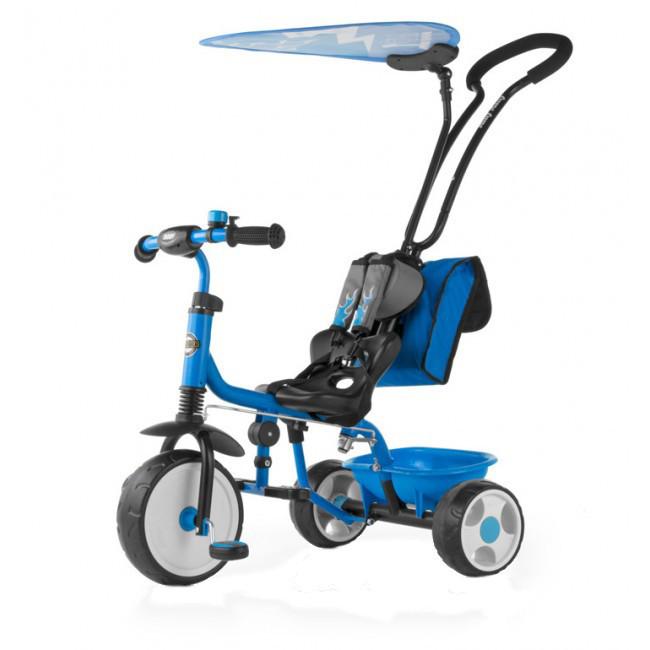 Tricicleta pentru copii Boby Deluxe Blue