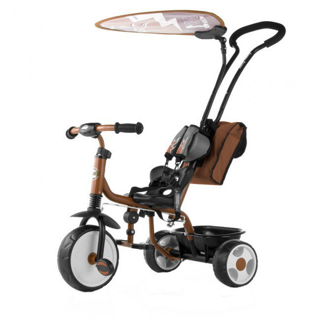 Tricicleta pentru copii Boby Deluxe brown