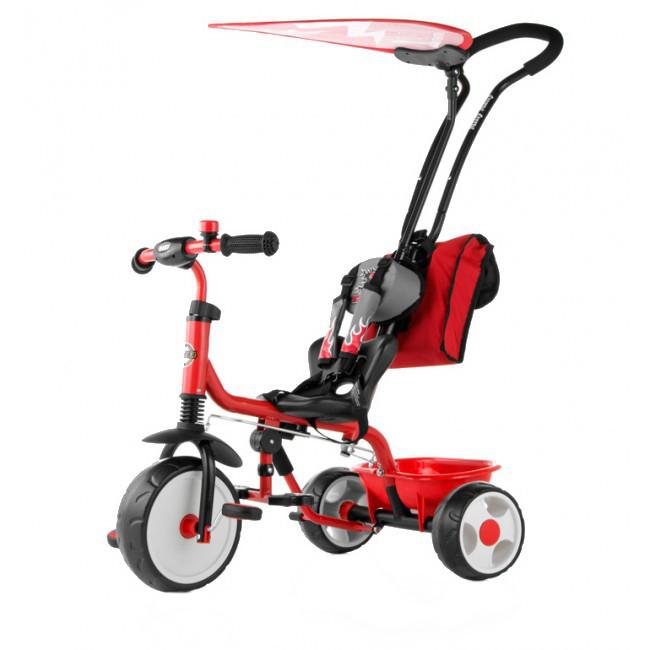 Tricicleta Pentru Copii Boby Deluxe Red