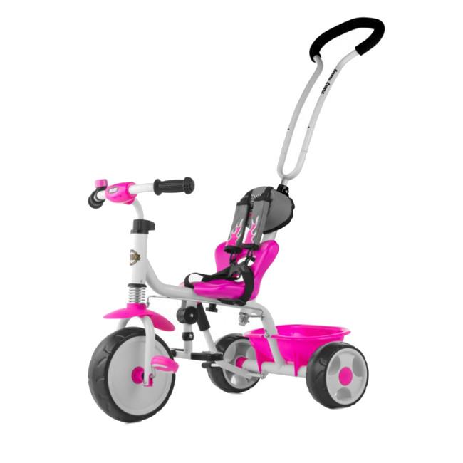 Tricicleta pentru copii Boby Pink