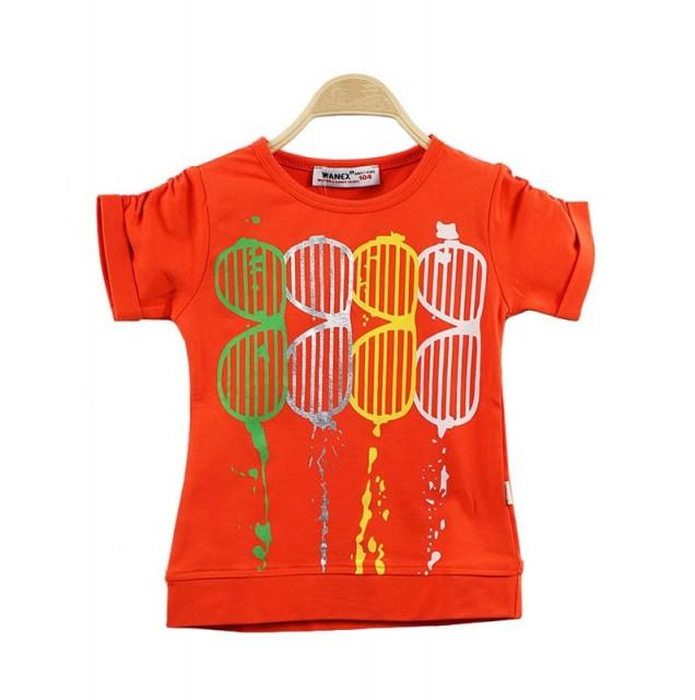 Tricou portocaliu fete (Masura 92 (1.5-2 ani))