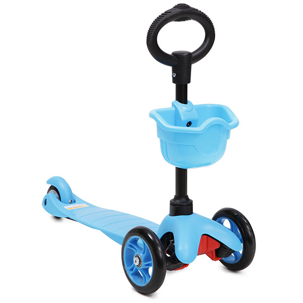 Trotineta multifunctionala 3 in 1 Scooter Blue