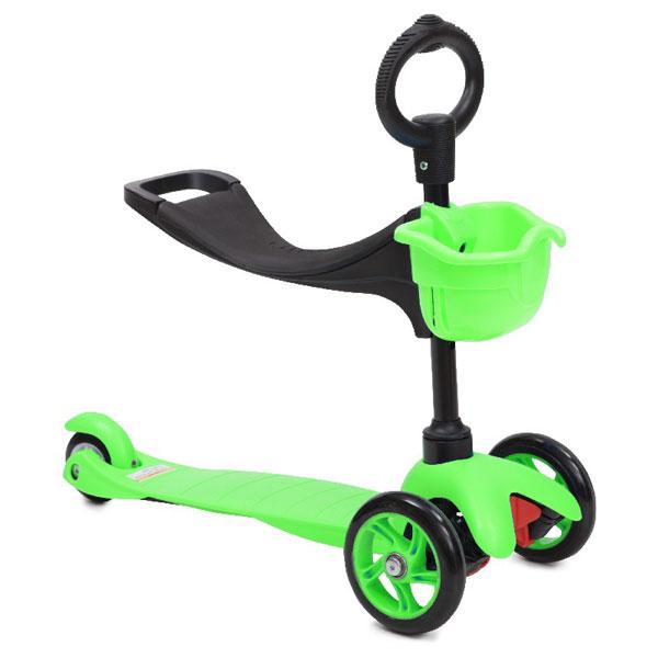Trotineta multifunctionala 3 in 1 Scooter Green imagine