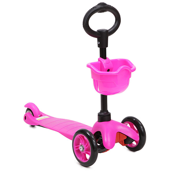 Trotineta multifunctionala 3 in 1 Scooter Pink