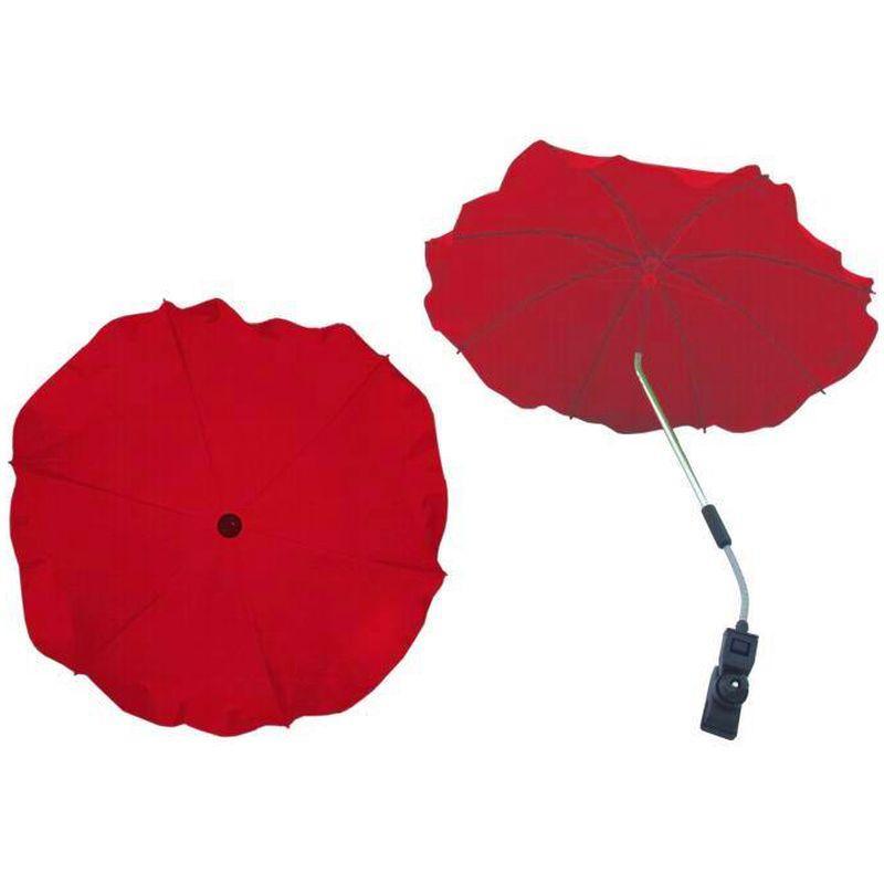 Umbrela Carucior Universala Rosu