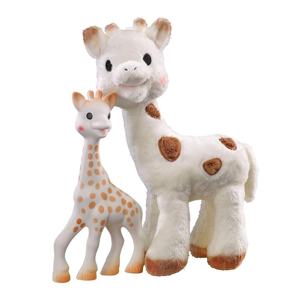 Set Sophie Cherie si Girafa Sophie Vulli